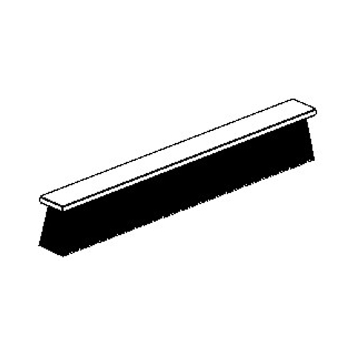 019912 Grey 6mm Brushpile For Weathered Tracks With Sliding Posts