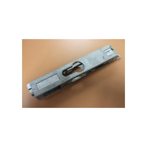 019923 Bottom Section Of Lock With Profile Cylinder Cut Out