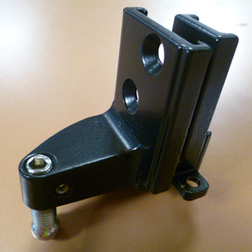 559940 Black Steel MK4 Running Gear Bracket (Right Hand Curve)