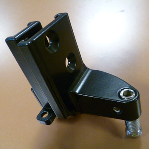 559941 Black Steel MK4 Running Gear Bracket (Left Hand Curve)