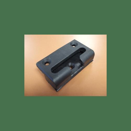 559995 Black Steel Lock Keep For Multi-Point Lock
