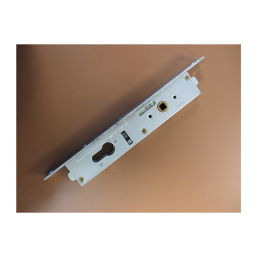 911005 MK1 Lock For Lead Panels With Profile Cylinder & Faceplate (Handle Upwards to Lock)