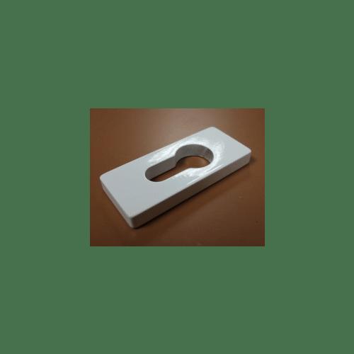 911081 Square 5mm Escutcheon Plate