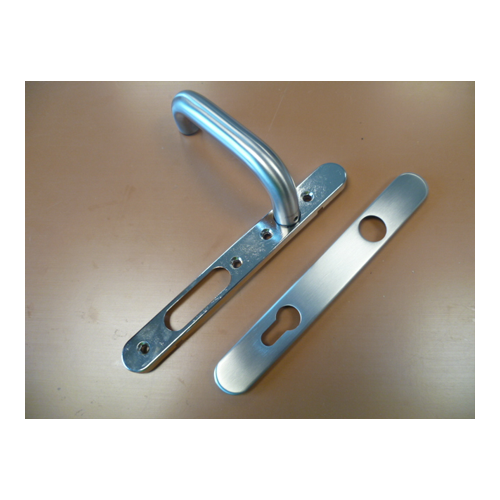 850273 Internal Stainless Steel Handle With Profile Cylinder Cut Out