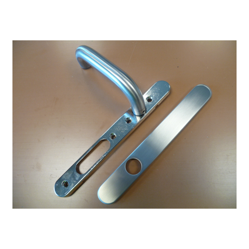 850275 Internal Stainless Steel Handle Without Profile Cylinder Cut Out Left Hand