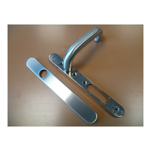 850276 Internal Stainless Steel Handle Without Profile Cylinder Cut Out Right Hand