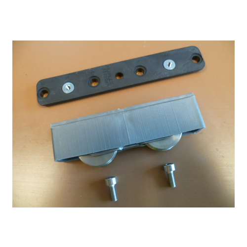 850383 Double Wheel Carriage With Stainless Steel Wheel
