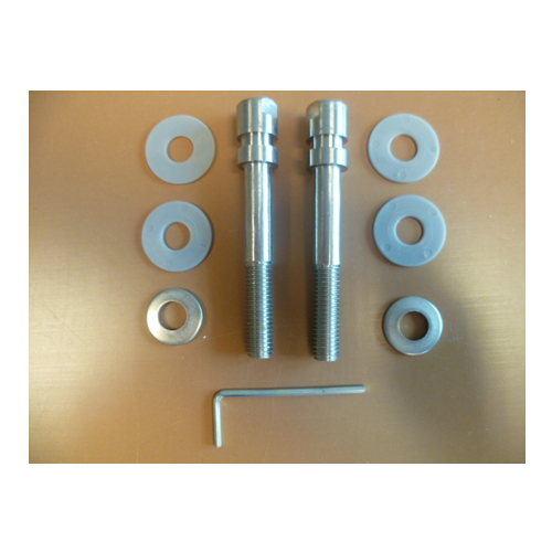 850469 Fixing Kit For Straight Stainless Feature Handles With Handles To Both Sides of panels