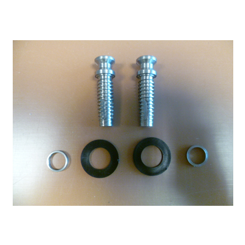 850470 Fixing Kit For Straight Stainless Feature Handles With Handle To Inside Only