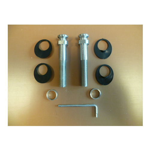 850473 Fixing Kit For Cranked Stainless Feature Handles With Handles To Both Sides of Panels