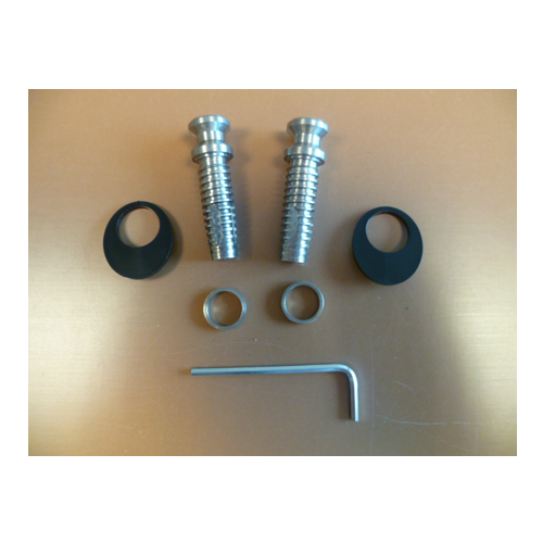 850474 Fixing Kit For Cranked Stainless Feature Handles With Handle To Inside Only