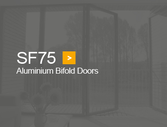 SF75 bifold doors