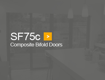 SF75c bifold doors